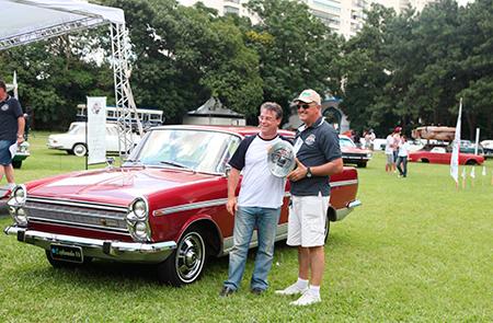Na Categoria Milagre Brasileiro (veículos entre 1967 e 1973) um dos premiados foi o Chrysler Esplanada 1969 – Paulo Galluzzi