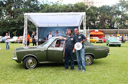 Na Categoria Milagre Brasileiro (veículos entre 1967 e 1973) um dos premiados foi o Opala Luxo Sedan 1970 – Ricardo Ghigonetto
