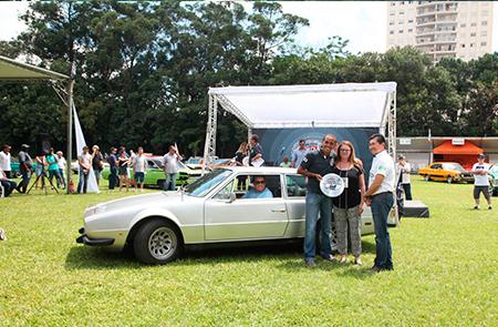Na Categoria Milagre Brasileiro (veículos entre 1967 e 1973) um dos premiados foi o Furia GT 1972 – Automóveis do Brasil