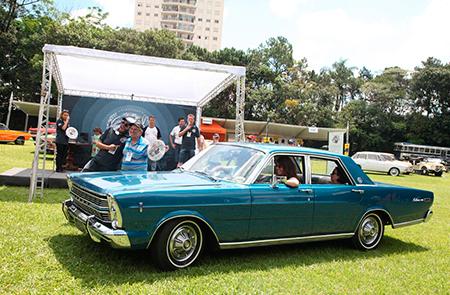 Na Categoria Milagre Brasileiro (veículos entre 1967 e 1973) um dos premiados foi o Galaxie 500 1972 - Antonio Tavares