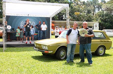 Na Categoria Milagre Brasileiro (veículos entre 1967 e 1973) um dos premiados foi o Variant 1972 – Ricardo Jacob