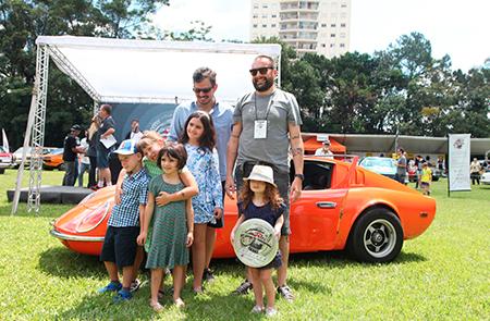Na Categoria Milagre Brasileiro (veículos entre 1967 e 1973) um dos premiados foi o Puma 1972 – Fernando Hormain