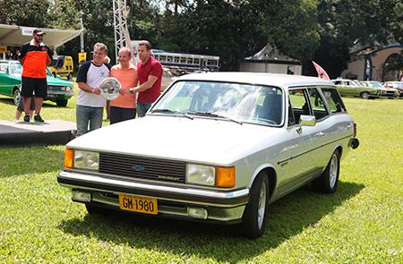 O Caravan Comodoro 250 S 1980 – Marcio Valente – recebeu premiação especial no Clássicos Brasil 2016