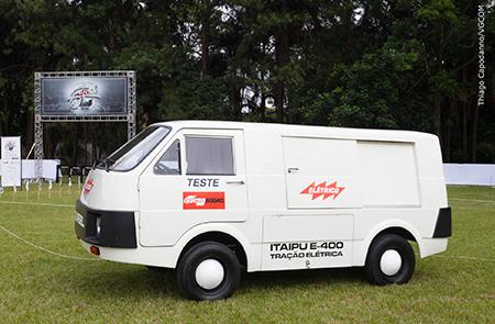 O Gurgel E400 - Itaipu 1982 - Museu Jorm – recebeu premiação especial no Clássicos Brasil 2016