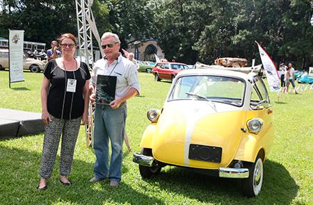 O Romie Isetta - 1959 - Claudio Romi (comemoração 60 anos Romi Isetta) ficou com o Troféu Fábio Steinbruch da segunda edição do Clássicos Brasil
