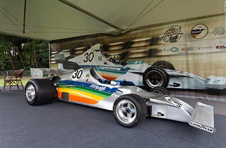 O primeiro carro de Fórmula 1, Fittipadi FD 01, produzido no Brasil há 40 anos da equipe Fittipaldi